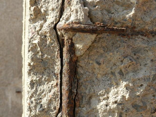 Corrosión del hormigon