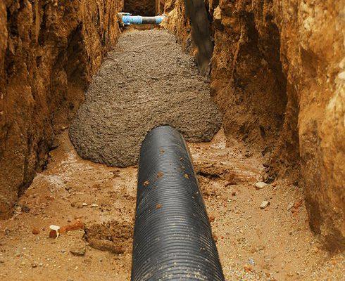 Hormigón continuo - Hormigón escavable