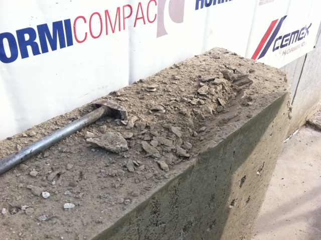 Materiales de obra - Hormigón excavable