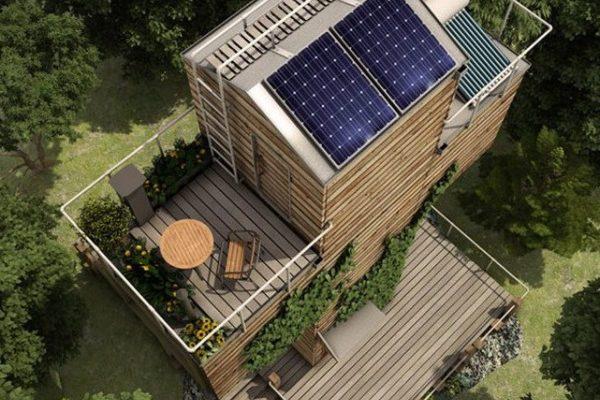 casa sustentable bio electrica